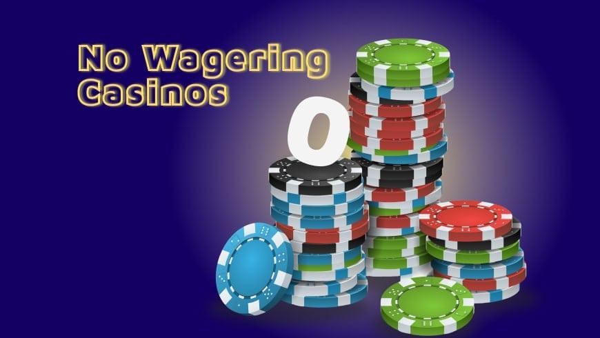 No Wagering Online Casinos in Canada