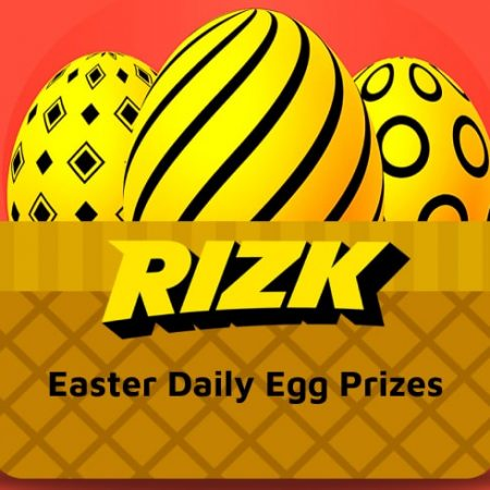 Easter Daily Egg Prizes at Rizk Casino 2021