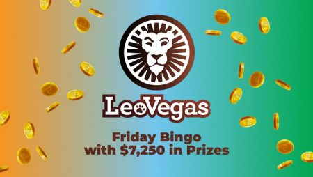 Friday Bingo at LeoVegas with $7,250 in Prizes