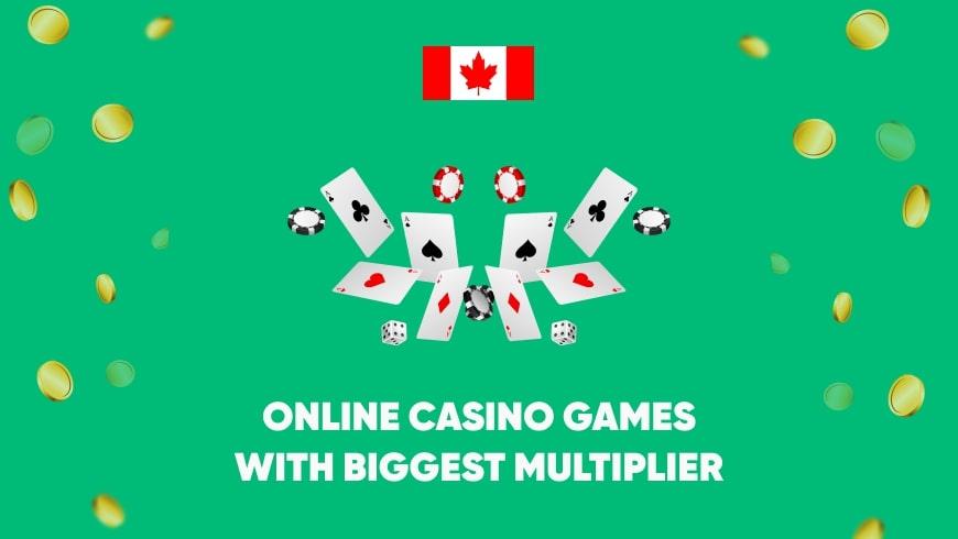 Online Casino Games with Biggest Multiplier