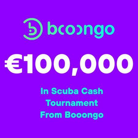 €100,000 in Scuba Cash Tournament from Booongo