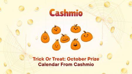 Trick or Treat: October Prize Calendar from Cashmio