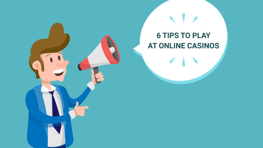 6 tips to play at online casinos as a professional gambler