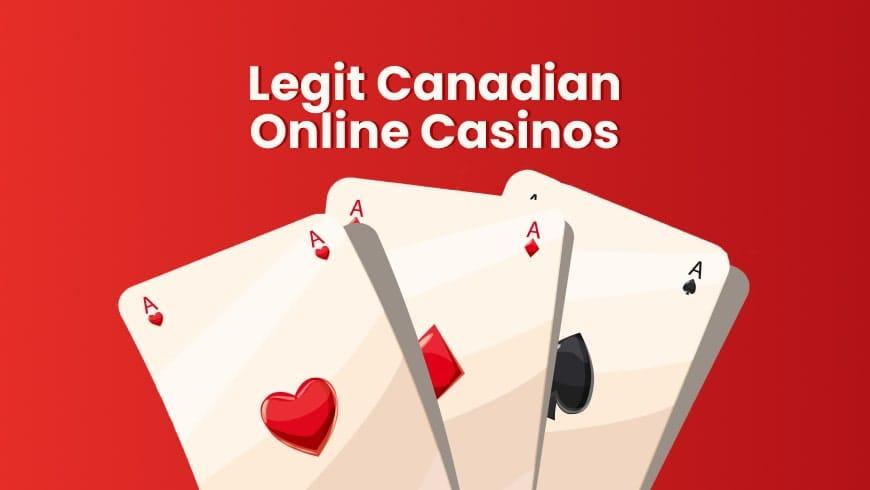 Legit Canadian Online Casinos