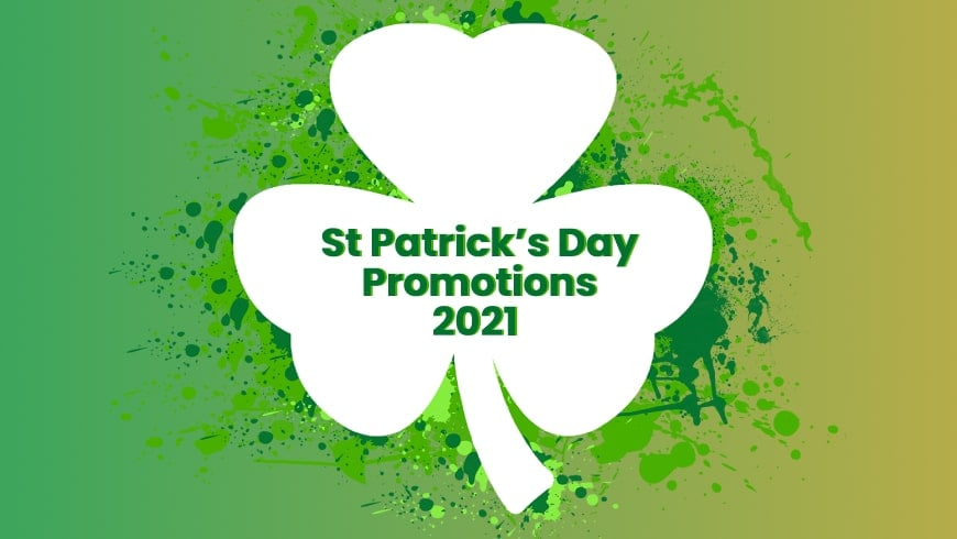 St Patrick's Day Yggdrasil Online Casino Promotions March 2021