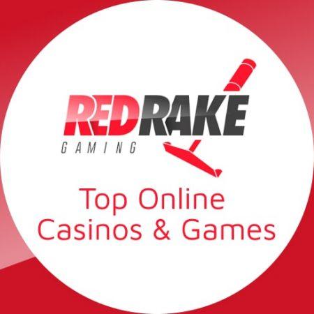 Top Red Rake Gaming Online Casinos & Games