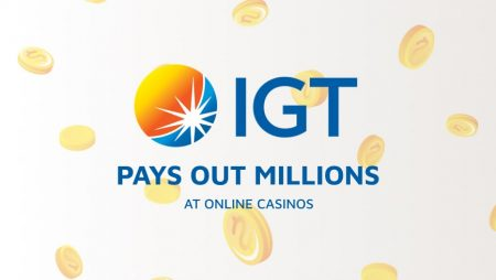 IGT Pays Out Millions at Online Casinos