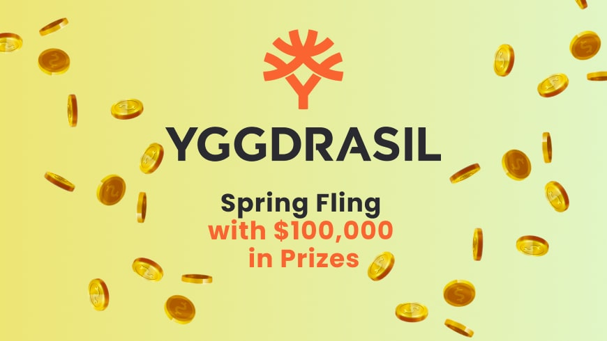 Yggdrasil Spring Fling with $100,000 in Prizes