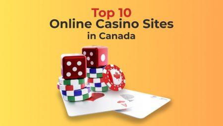 Top 10 Online Casino Sites in Canada