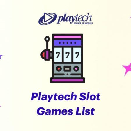 Playtech Slot Games List