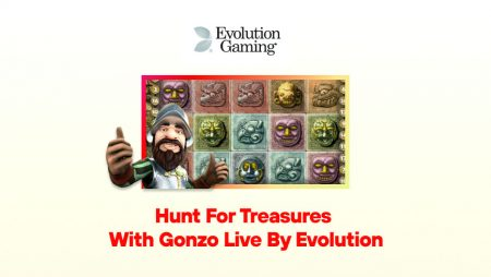 Hunt for Treasures with Gonzo Live by Evolution