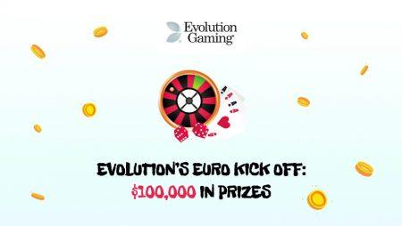 Evolution's Euro Kick Off: $100,000 in Prizes