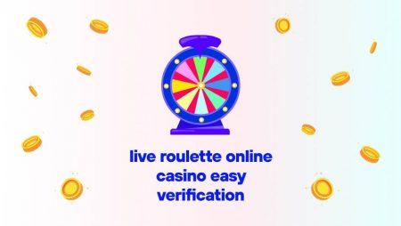 Live Roulette Online Casino Easy Verification