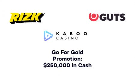 Go For Gold Promotion: $250,000 in Cash