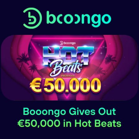 Booongo Gives Out €50,000 in Hot Beats