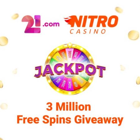3 Million Free Spins Giveaway