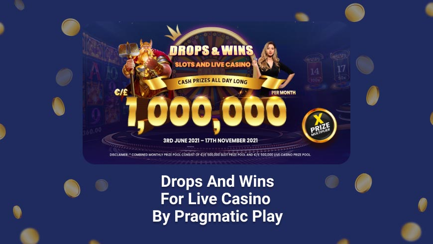 Drops and Wins for Live Casino by Pragmatic Play